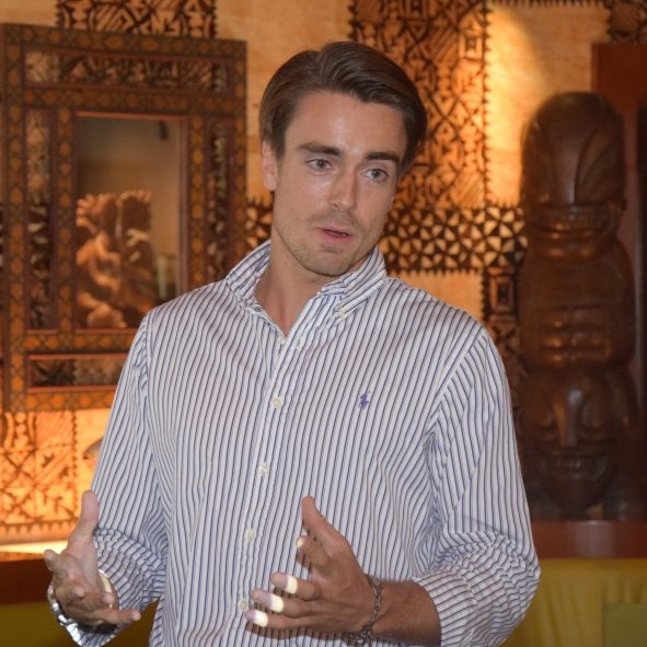 Leo Leriche, export manager Giffard