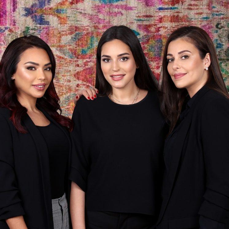 Fatima Rabbani, Iman Nazemi and Homaira