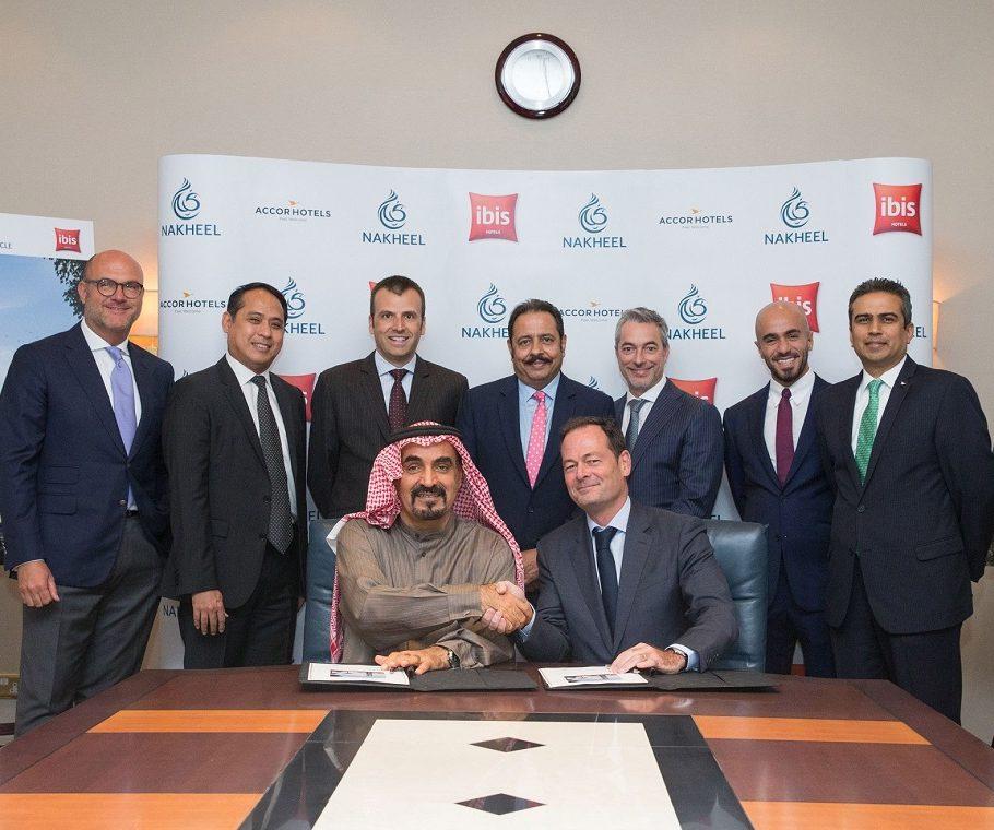 Nakheel ibis JVC signing ceremony