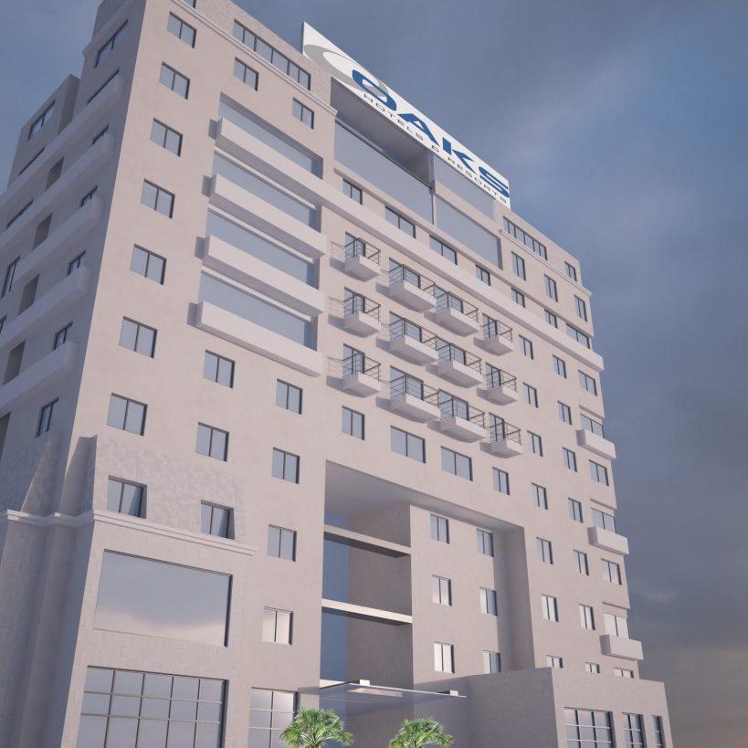 Oaks Beirut - exterior rendering