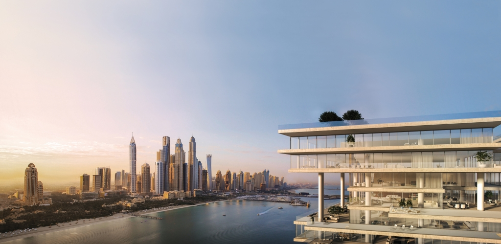 2-One-at-Palm-Jumeirah-Top-Sunriseمبنى ون بالم جميرا