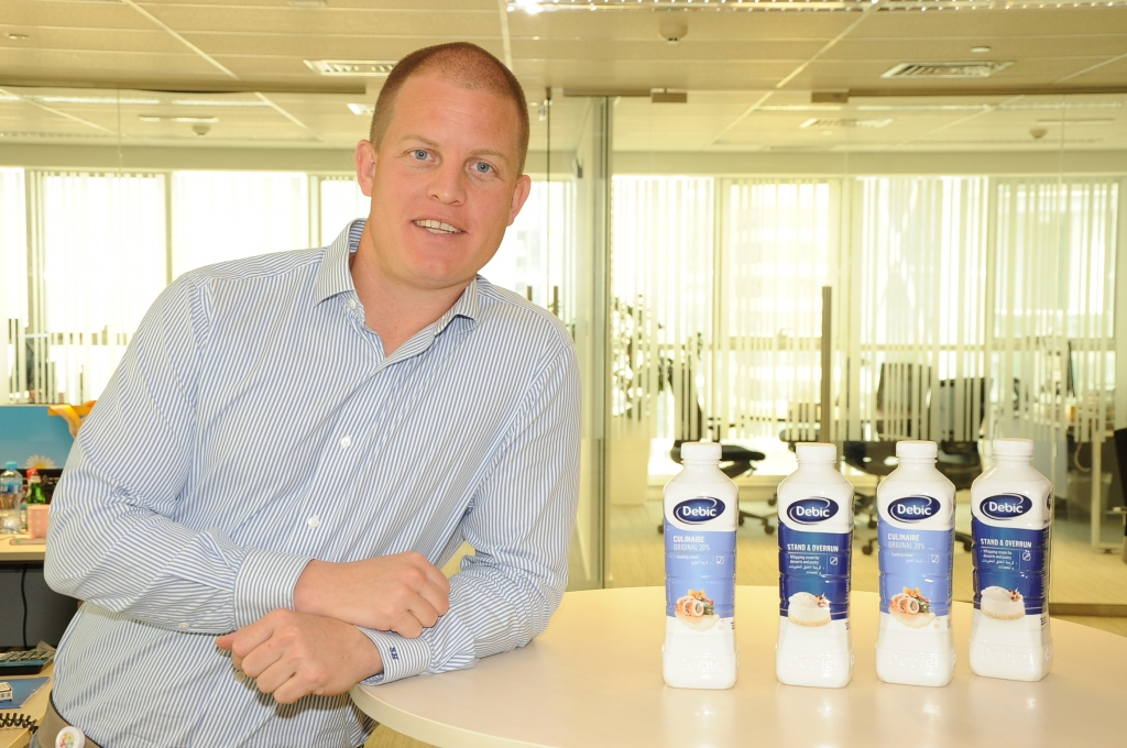 Stefan Hoonhoud, business development manager, Friesland Campina Middle East