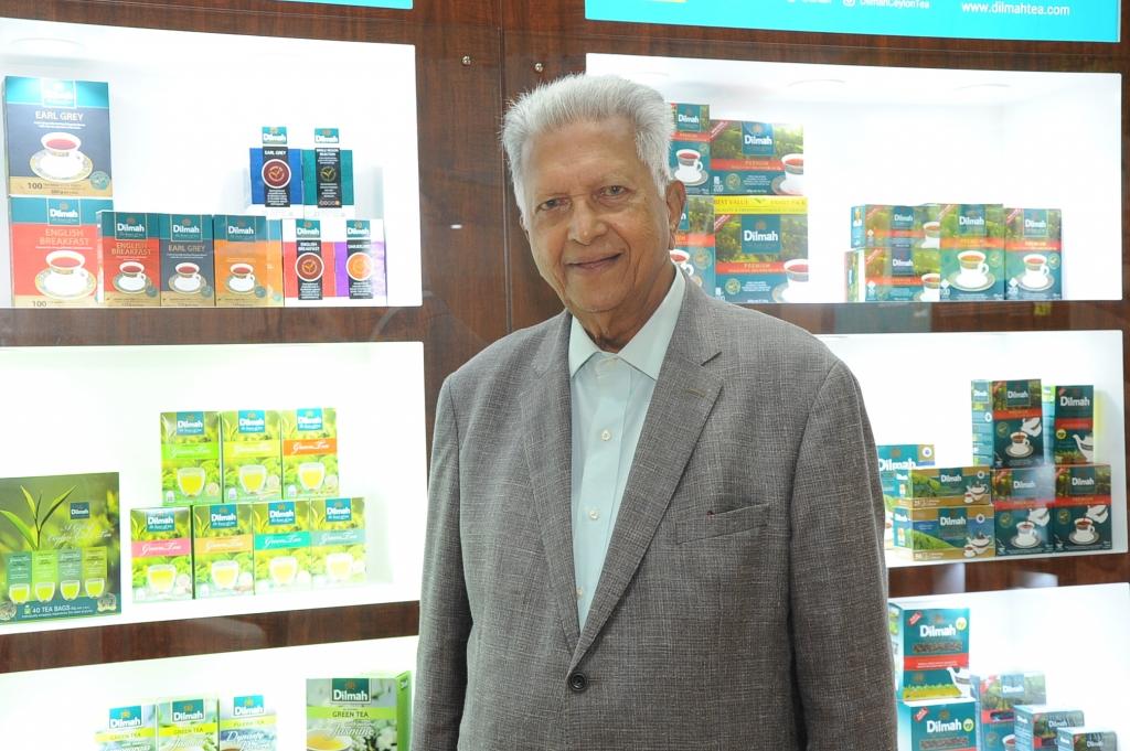 Merril J Fernando, Dilmah Tea founder