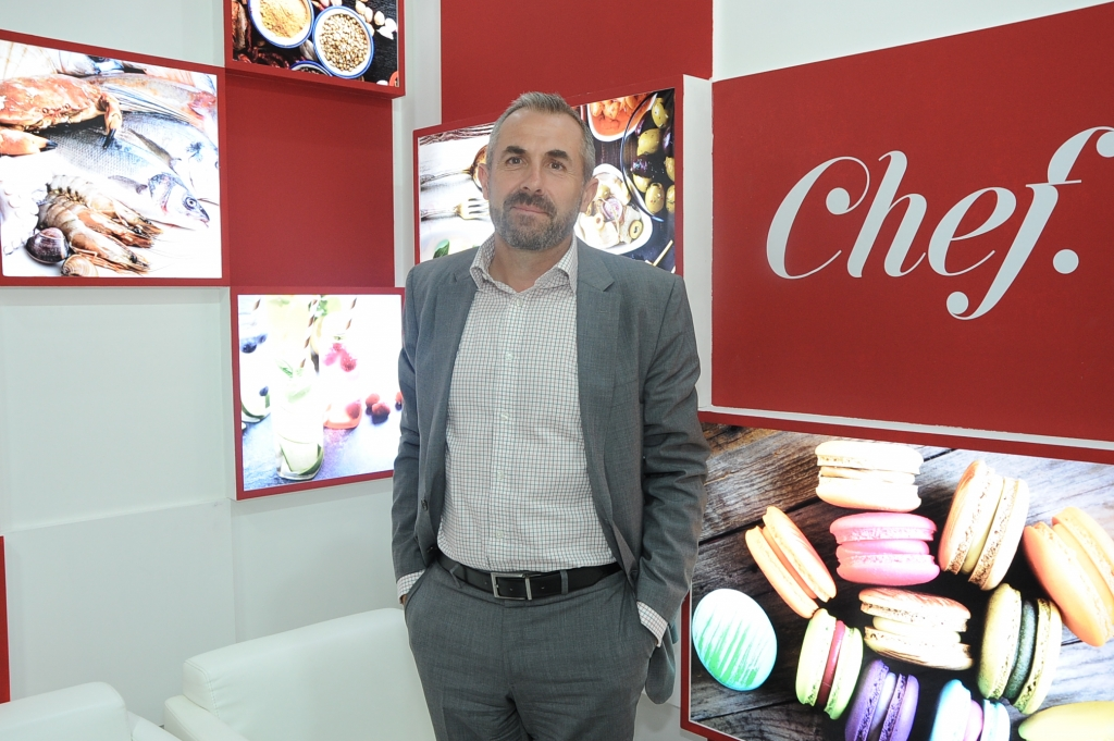 Steve Pyle, CEO Chef Middle East