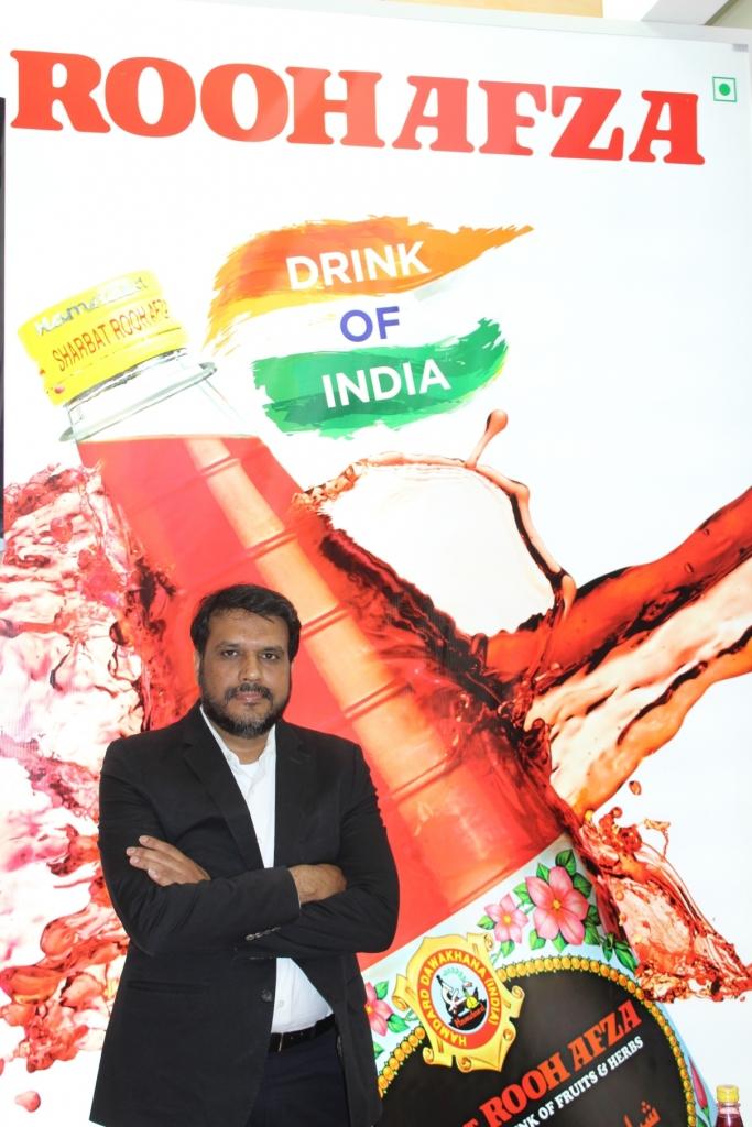 Mr Mansoor Ali, Chief Sales & Marketing Officer, Hamdard India