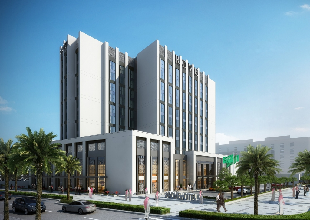 Rove Hotels expands to KSA with Rove King Abdullah Economic City Artist Render
