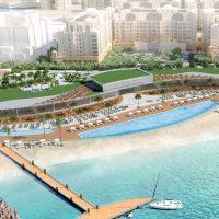 Construction work begins on The St. Regis Beach Club