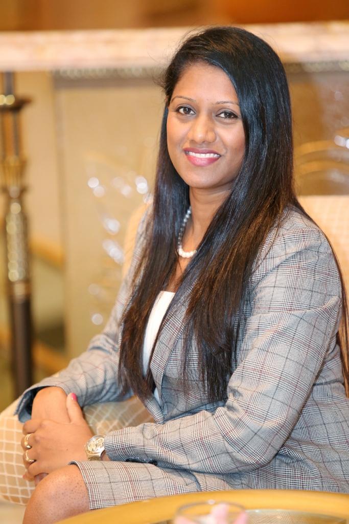 Pamini Hemaprabha, executive housekeeper, Bahi Ajman Palace