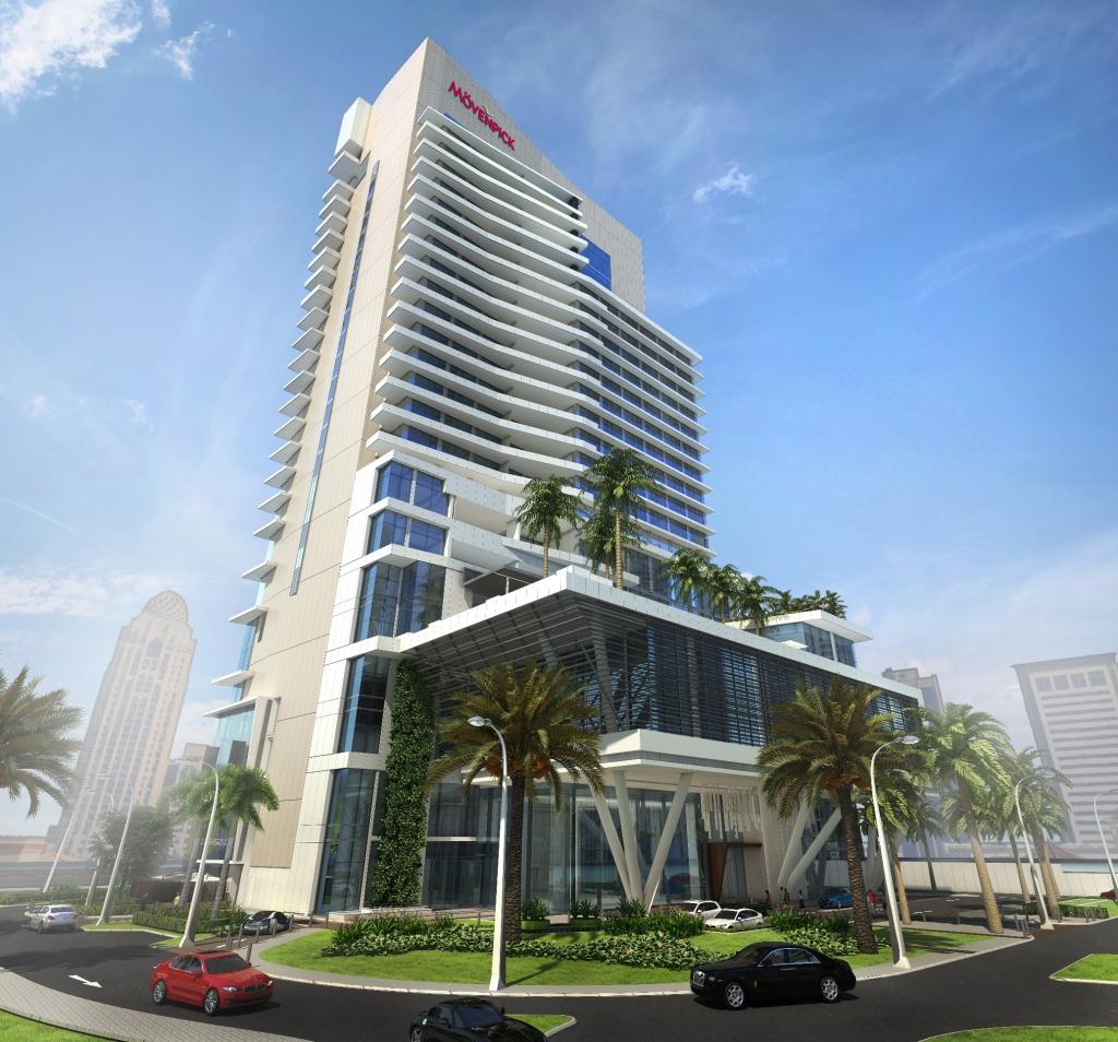 The new Mövenpick hotel in Dubai Media City