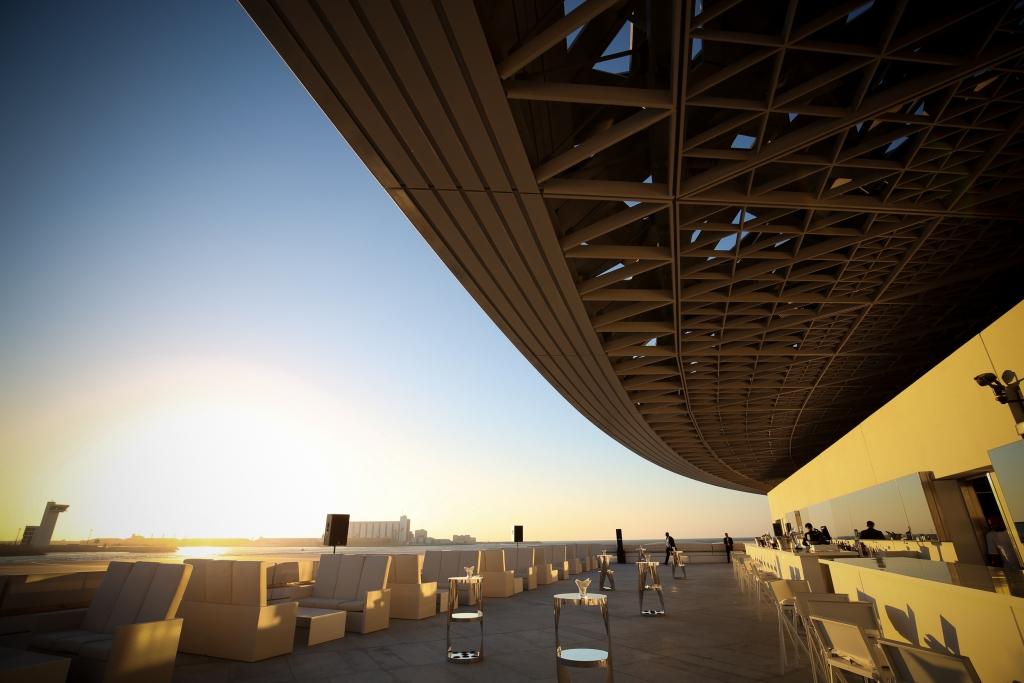 The Art Lounge at Louvre Abu Dhabi