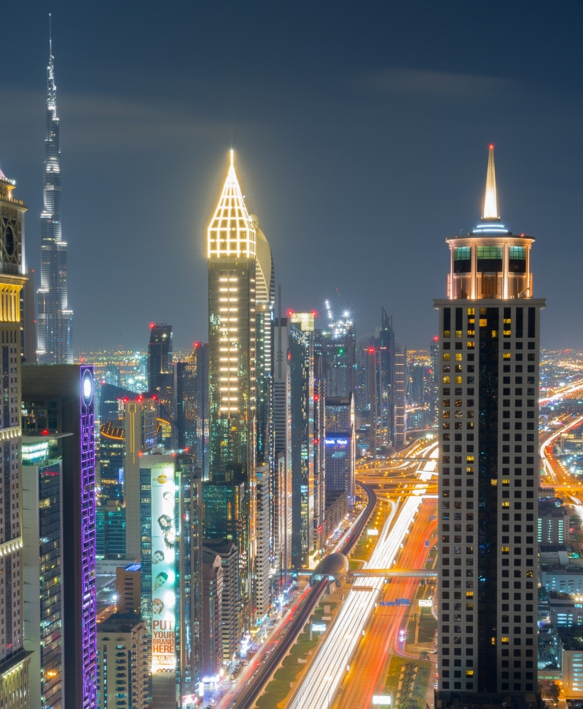 Gevora Hotel which recently opened in Dubai is the tallest in the world