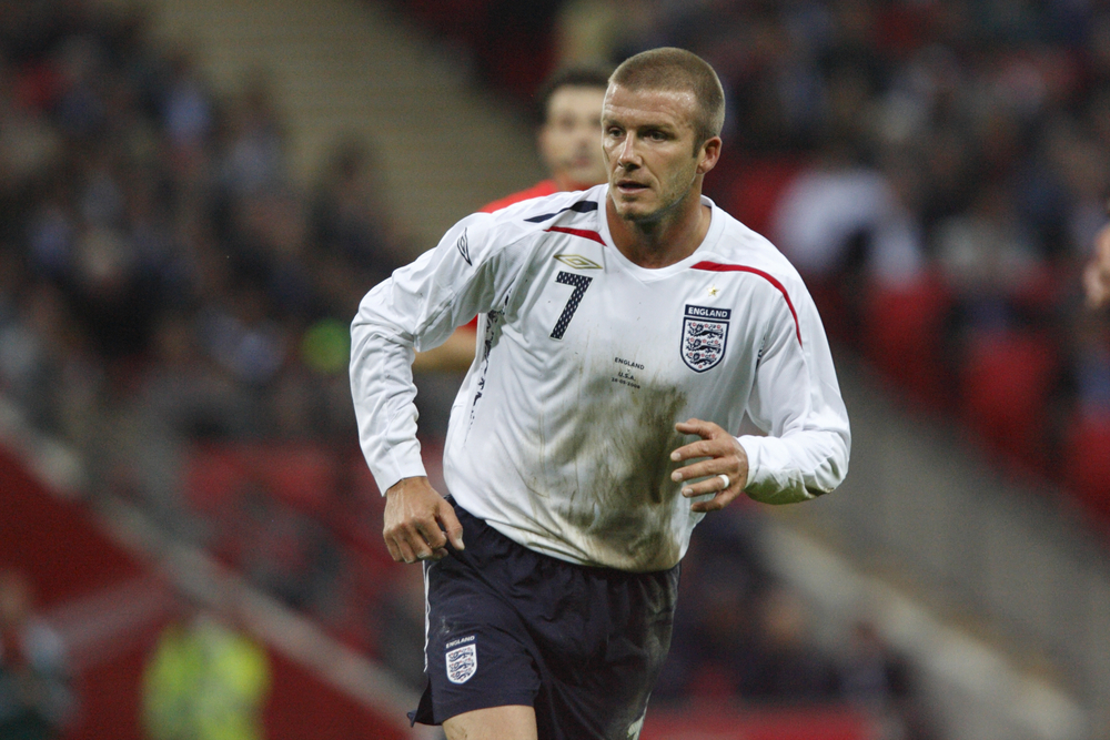 David Beckham was known for his dedication to improving his craft. Picture: shutterstock.com