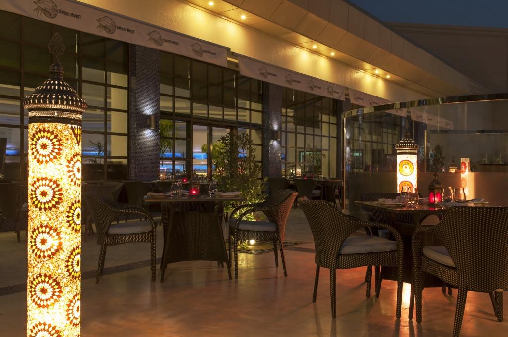 Seafood Market - Le Meridien Dubai Hotel