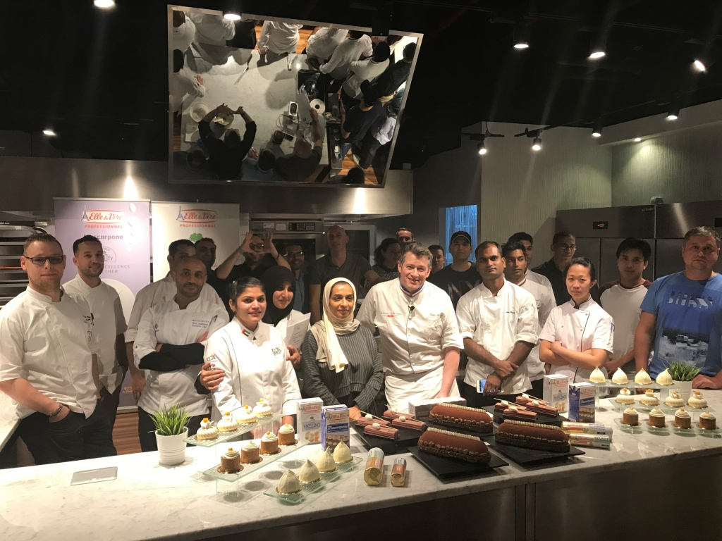 Chef Nicolas Boussin at the Greenhouse Innovation Centre