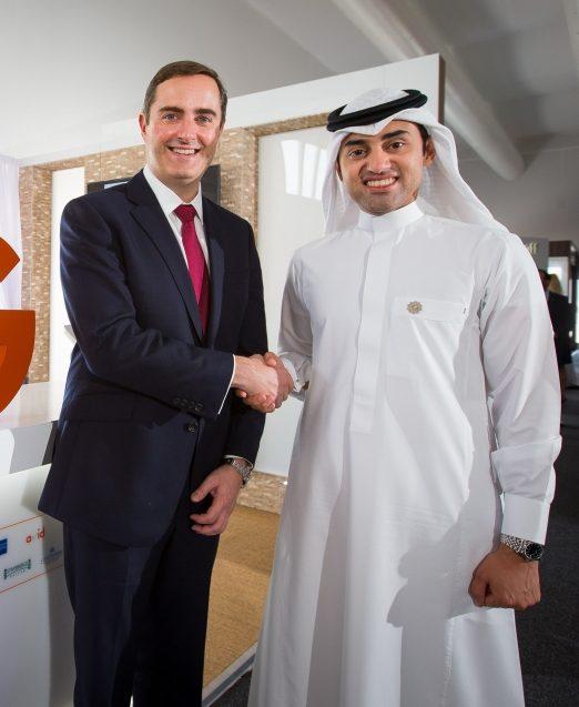 Keith Barr, Global CEO, IHG and Mishal Abdulmohsen, deputy CEO, GM, Al Hokair Group