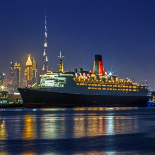 World-famous QE2 ship opens as a hotel in Dubai