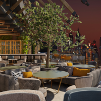 A New Terrace Lounge Has Opened at JW Marriott Marquis