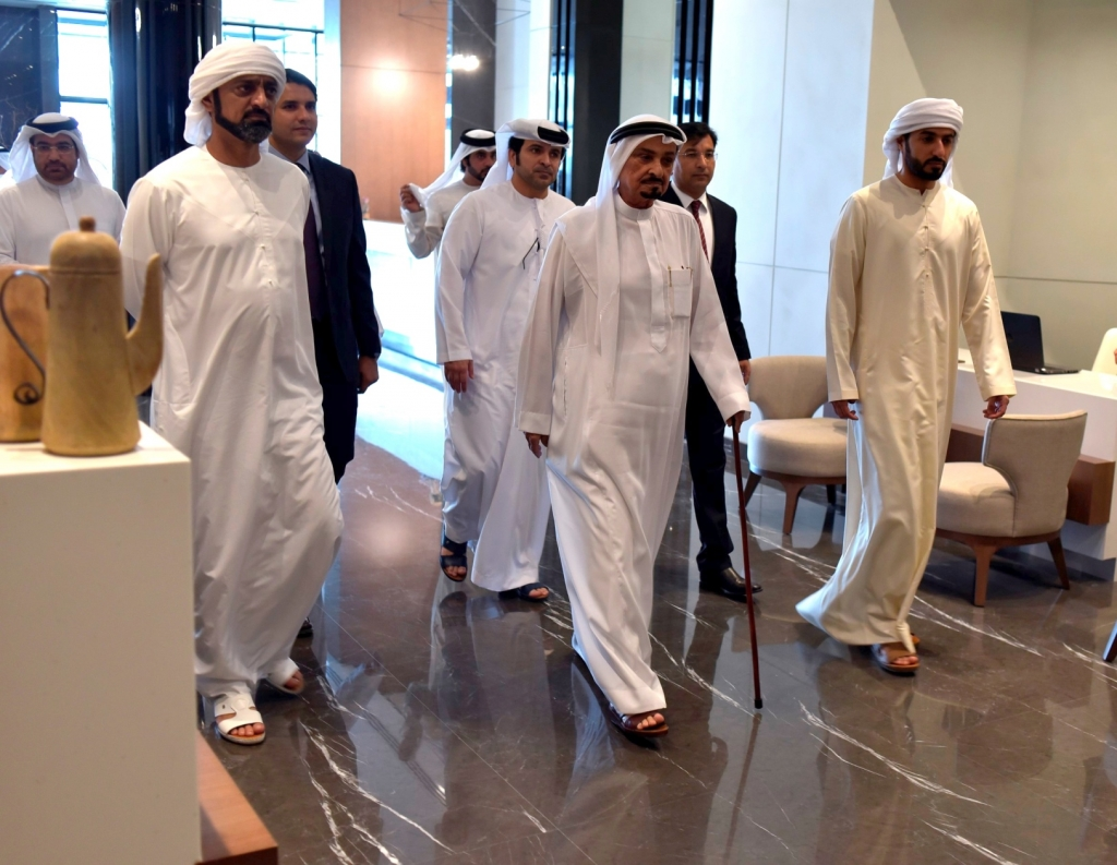 His Highness Sheikh Humaid bin Rashid Al Nuaimi, Supreme Council Member and Ruler of Ajman took part in the opening ceremony of the property