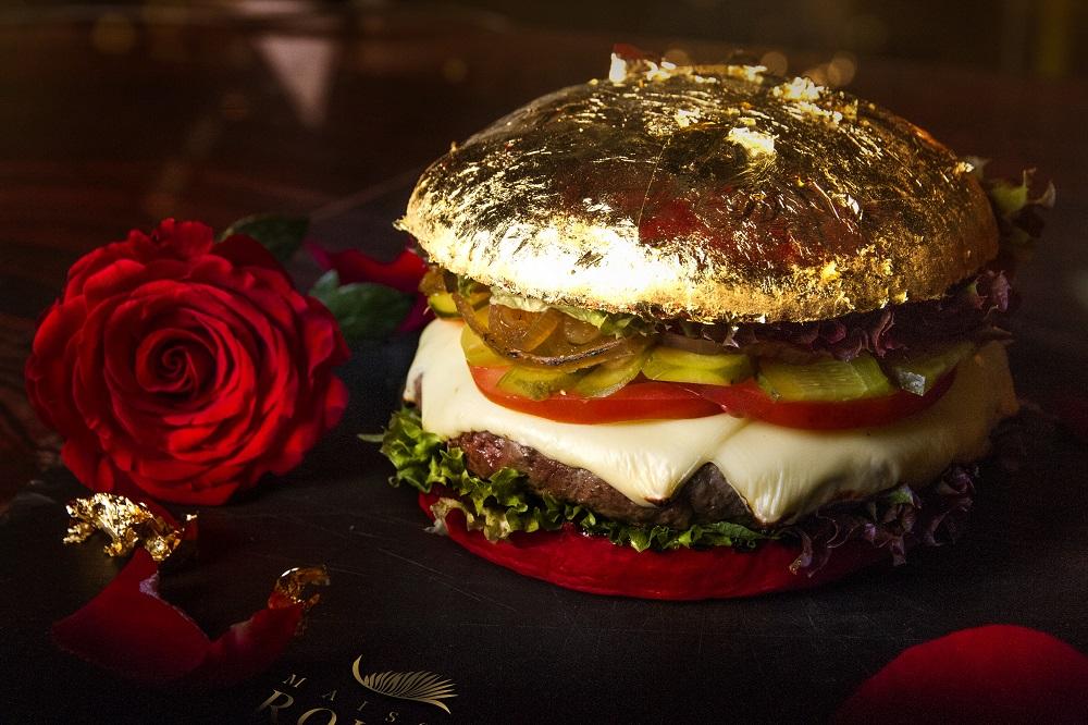 24 karat gold burger