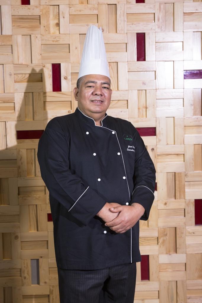 Juan Flores, executive chef, Loca