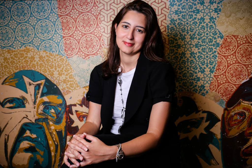 Nadine Benchaffai, co-founder, Taqado