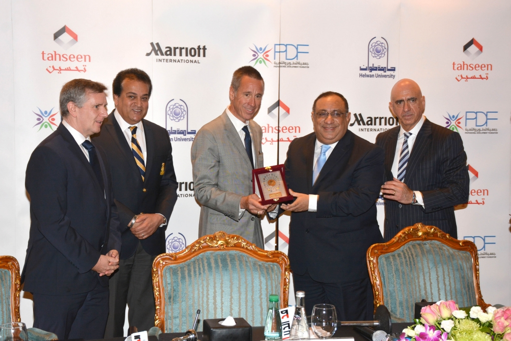 Marriott International reinforces its commitment to Egypt with the launch of Tahseen, a unique hospitality training program
