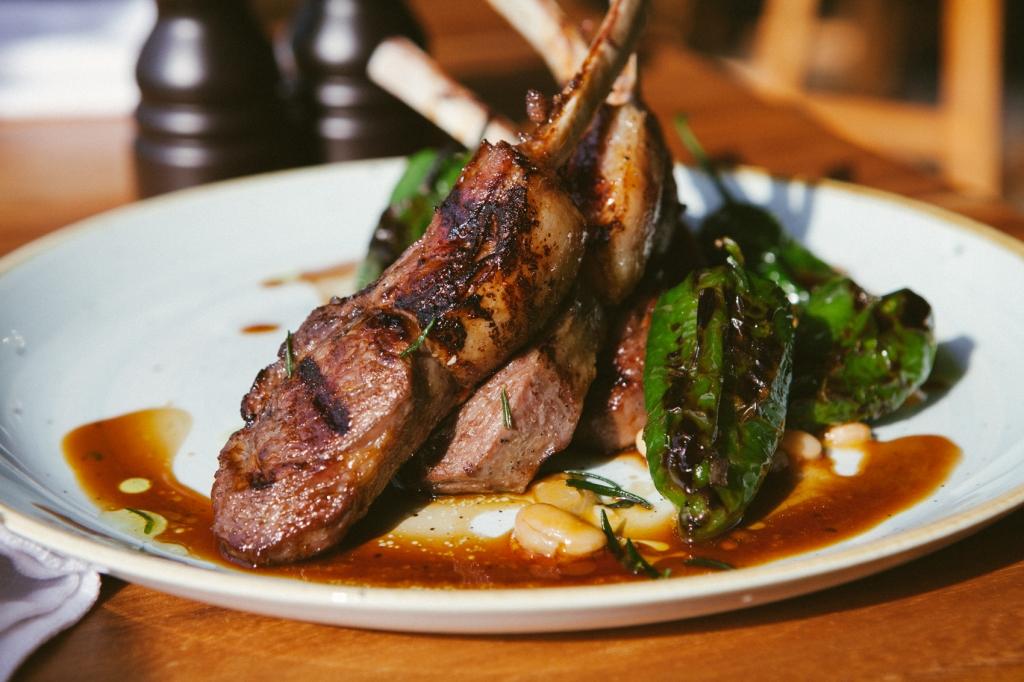 Via Veneto - Grilled Lamb Cutlets (1)