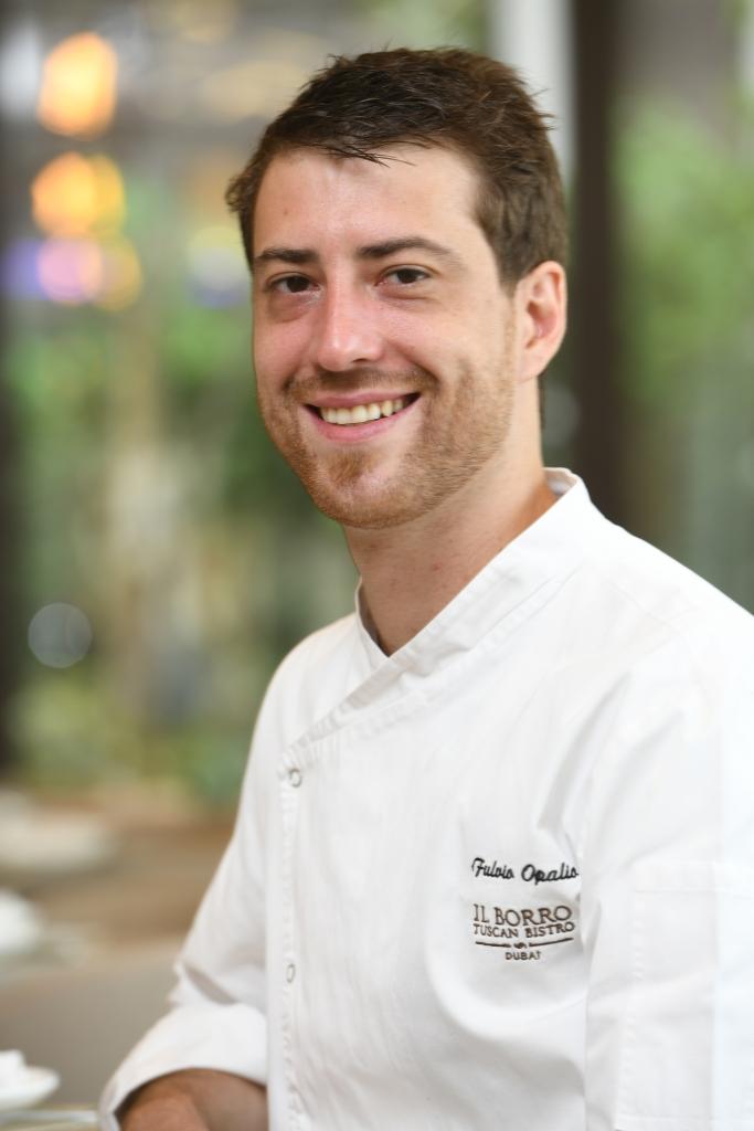 Fulvio Opalio, head chef, Il Borro Tuscan Bistro Dubai