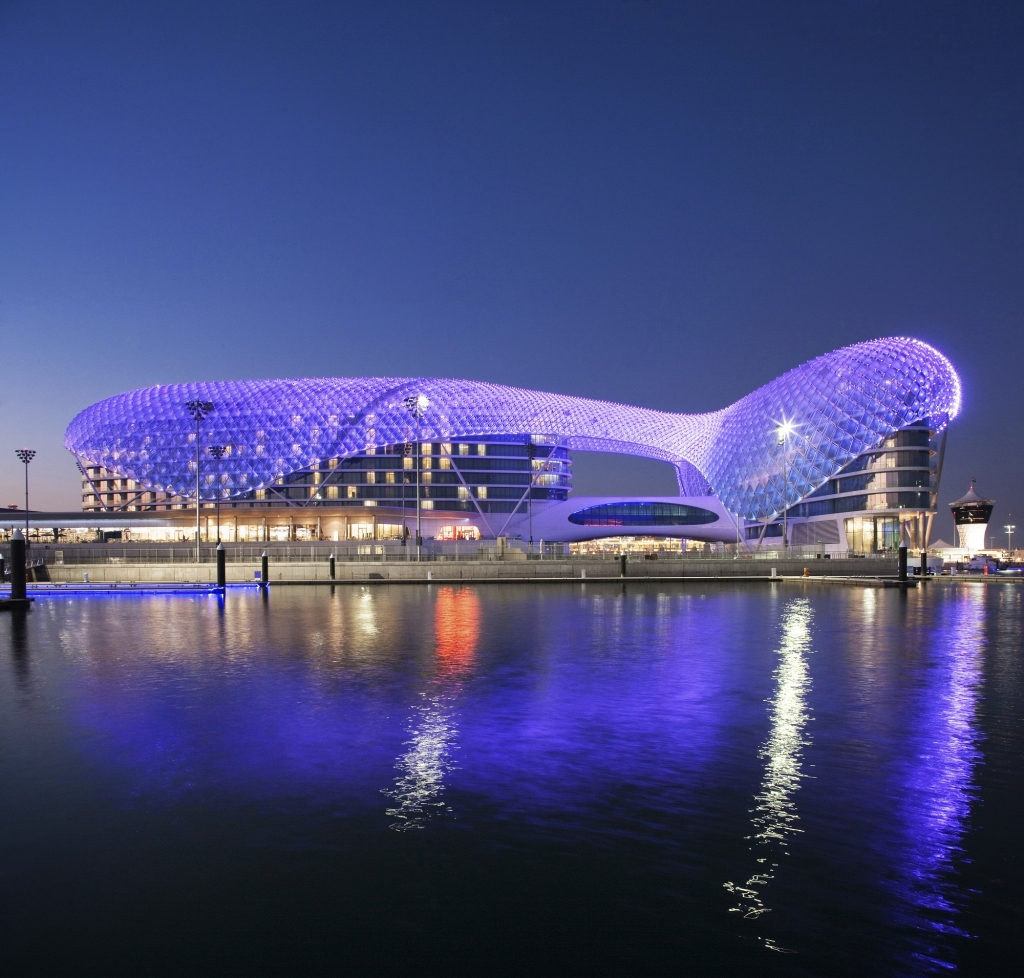 Marriott recently took over the operations of the Yas Island Hotel