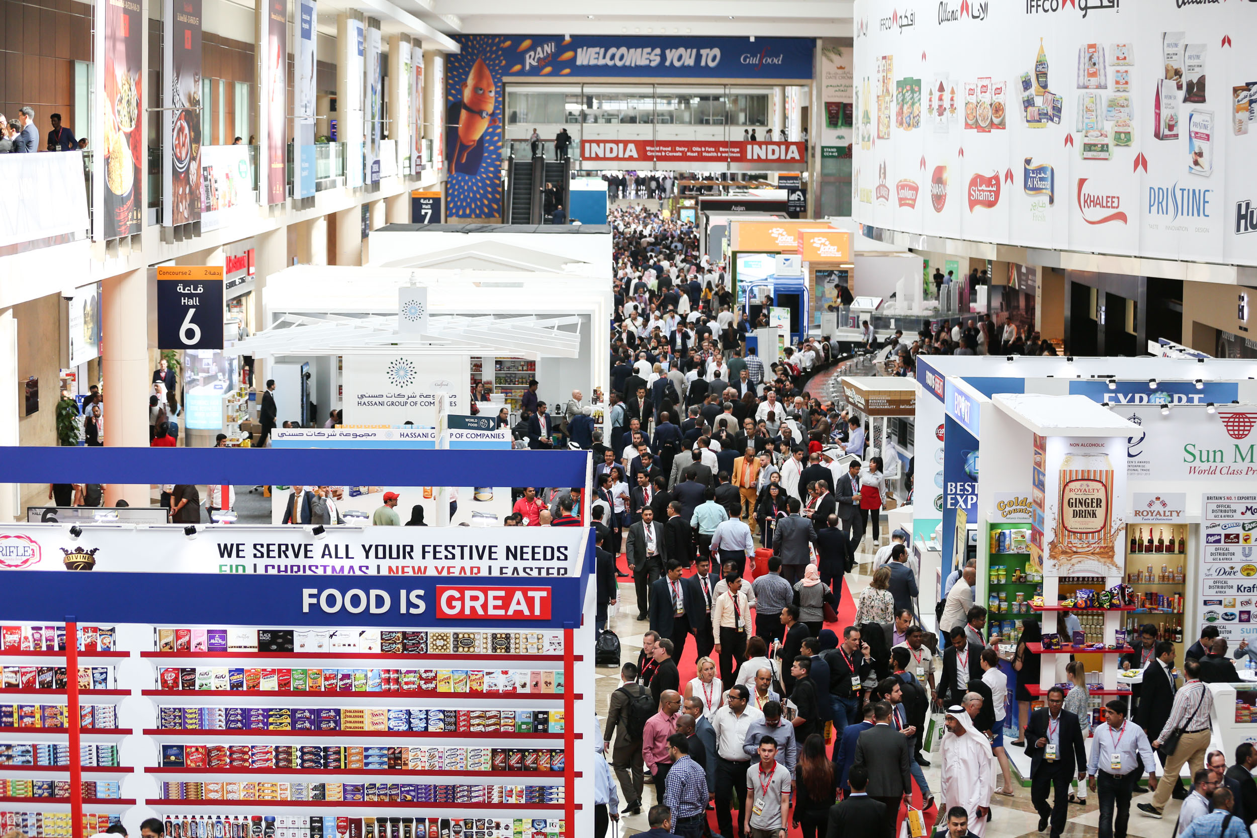 Image 03 - Gulfood - the world's largest annual food and beverage trade exhibition set to return in 2019