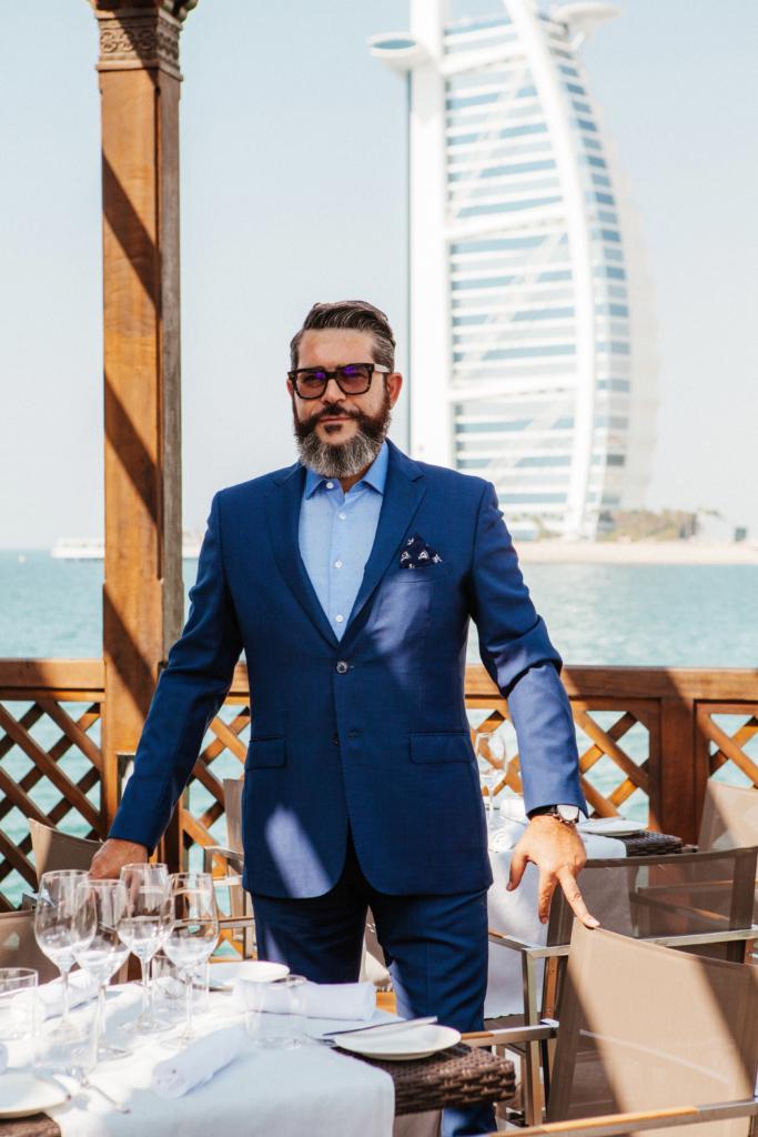Pierchic's general manager, Luca Gagliardi