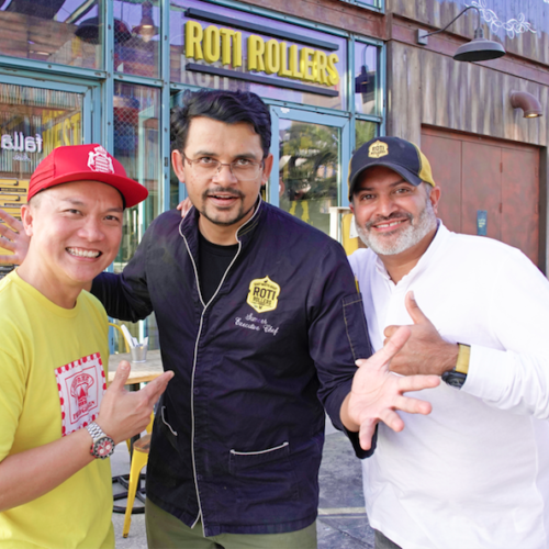 Reif Othman Teams Up With Roti Rollers