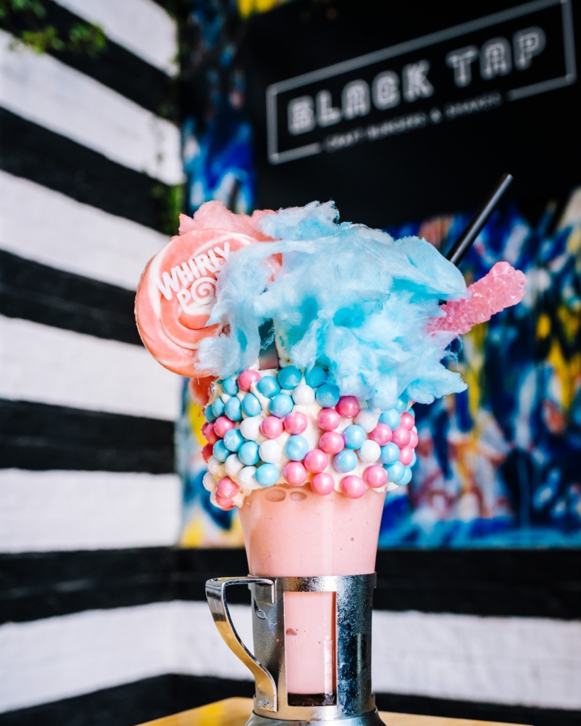 The Cotton Candy CrazyShake at Black Tap - Copy