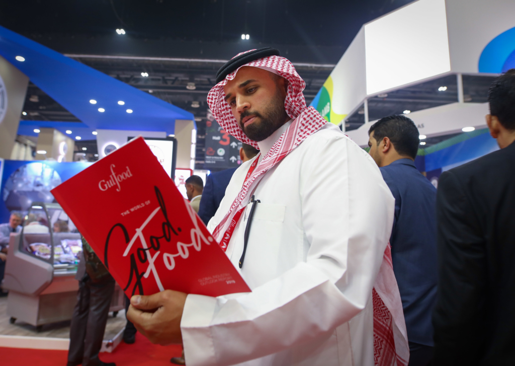 The Gulfood Global Industry Outlook Report has caught the attention of visitors