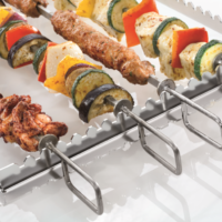 Rational presents new grill and tandoori skewer for 2/3 GN