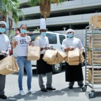 FoodKarma and its F&B partners deliver free meals to frontliners at Al Zahra Hospital