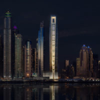 The First Group achieves construction milestone for 'world's tallest hotel'