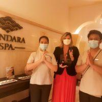 The H Dubai's Mandara Spa wins Travel and Hospitality award