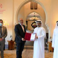 Ajman Tourism awards resort the emirates' first Bureau Veritas certification